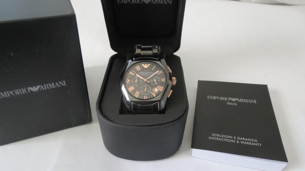 5f410093b5f Relógio Masculino Emporio Armani AR1410 Preto - Mimports - Produtos ...