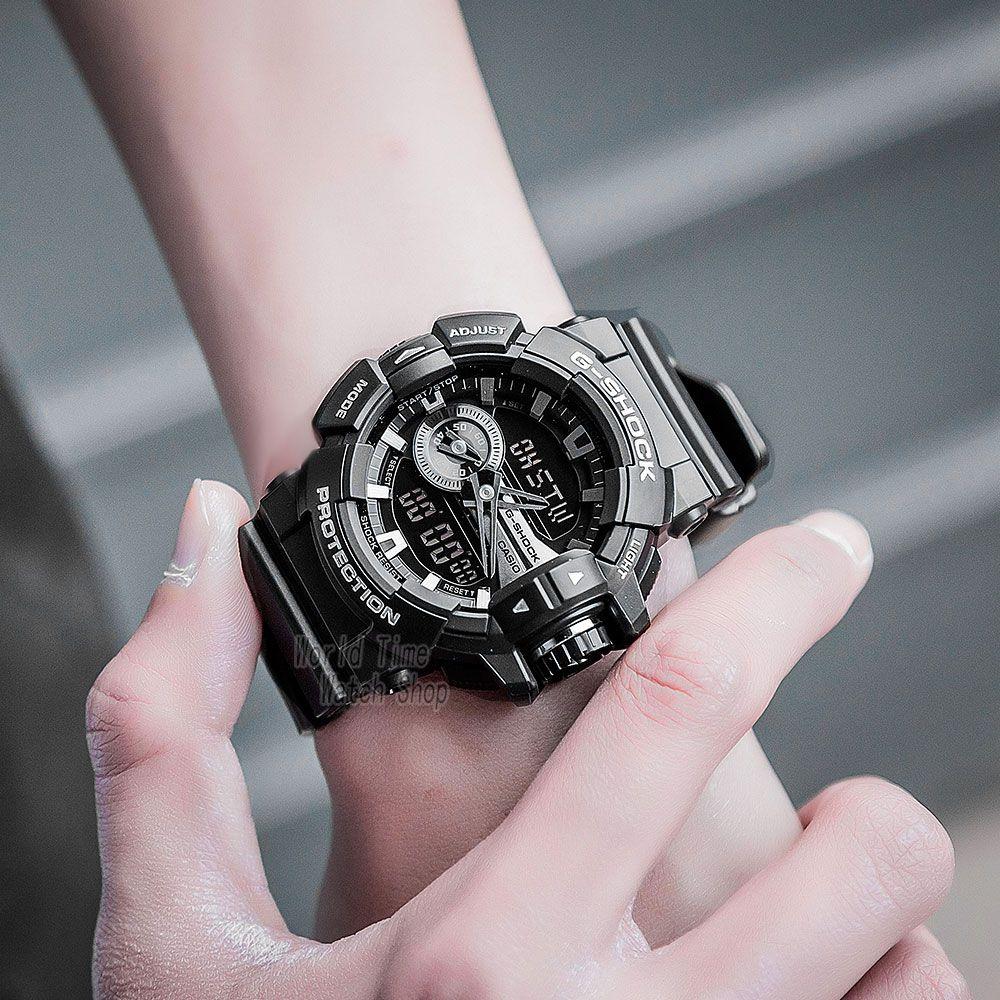 cdb930da382 Relógio Unissex Casio G-Shock GA-400GB-1A Preto - Mimports ...