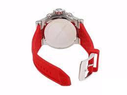 62d3bbdead4 ... Relógio Masculino Michael Kors MK8169 Vermelho Fundo Preto - Imagem 3