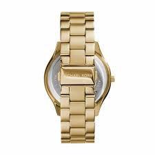 4217daa44bf ... Relógio Feminino Michael Kors MK3803 Dourado Fundo preto - Imagem ...