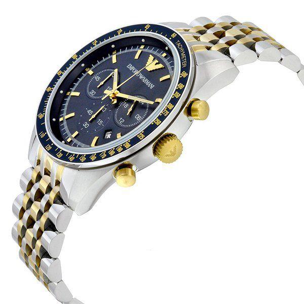 0ebe0ddae52 ... Relógio Masculino Empório Armani AR6088 Fundo Azul - Imagem 3 ...