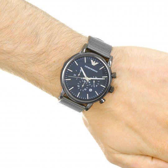 6370c431b6015 Relógio Masculino Empório Armani AR1979 Cinza - Mimports - Produtos ...
