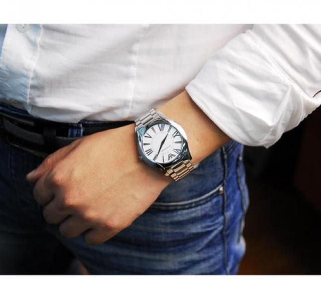5fbf8b97eb2 Relógio Masculino Empório Armani AR2055 Prata - Mimports - Produtos ...