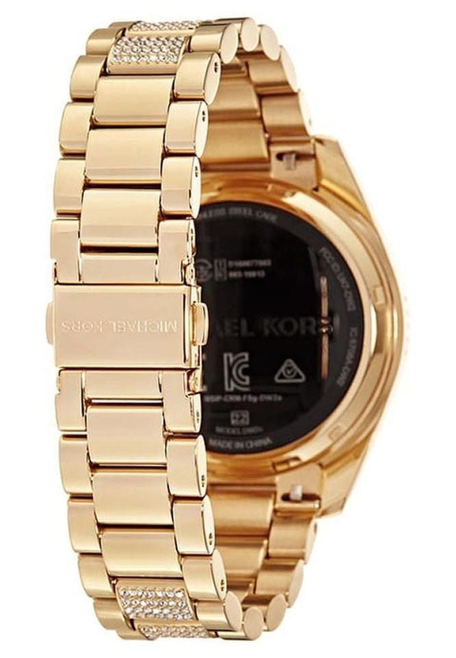 c4e1f7fae081 ... Relógio Feminino Michael Kors MKT5002 Dourado Cravejado - Imagem ...