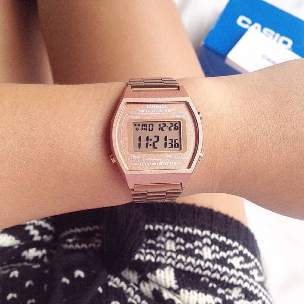 e6921a0db39 Relógio Feminino Casio Modelo B640WC-5A Rose - Mimports - Produtos e ...