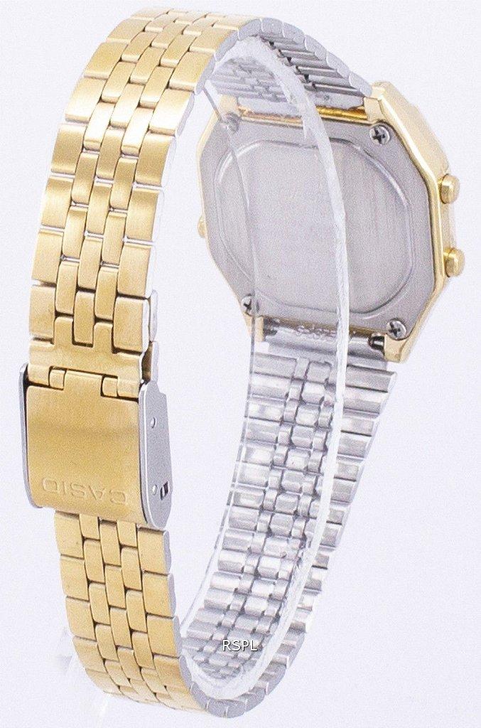 a458717f7b6 Relógio Feminino Casio Modelo LA680WGA-4C Dourado - Mimports ...