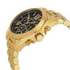 3a20145e5bd ... Relógio Feminino Michael Kors MK5739 Dourado Fundo Preto - Imagem 2 ...