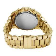 f96543474da Relógio Feminino Michael Kors MK5739 Dourado Fundo Preto - Mimports ...