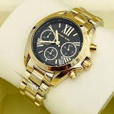 8afba5460af ... Relógio Feminino Michael Kors MK5739 Dourado Fundo Preto - Imagem 3 ...