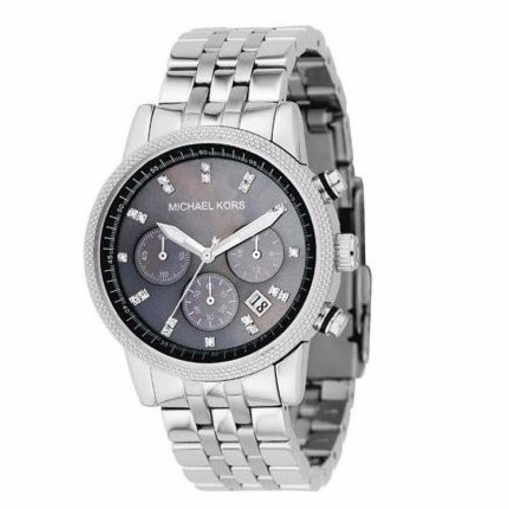 74ac6ad7d Relógio Feminino Michael Kors MK5021 Prata - Mimports - Produtos e ...