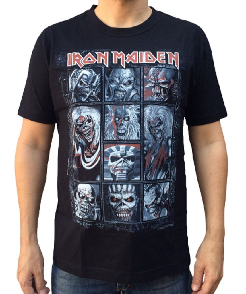 Camiseta Iron Maiden - Eddies