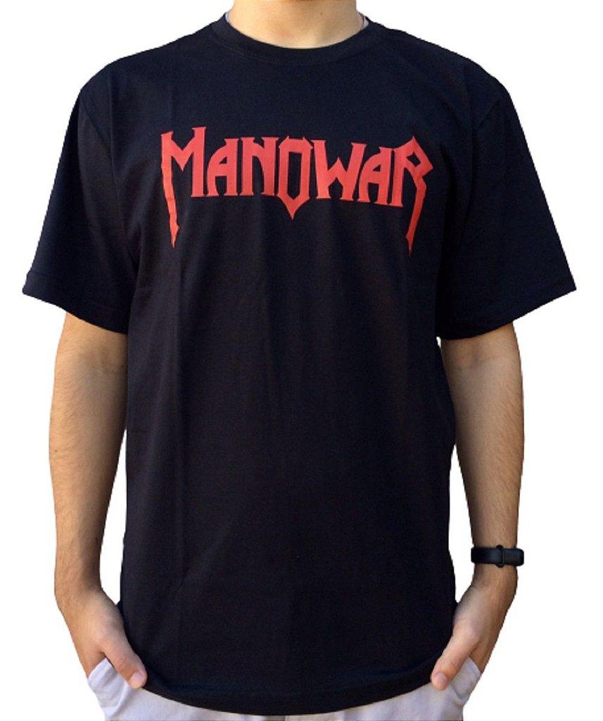 Camiseta Manowar - Logo