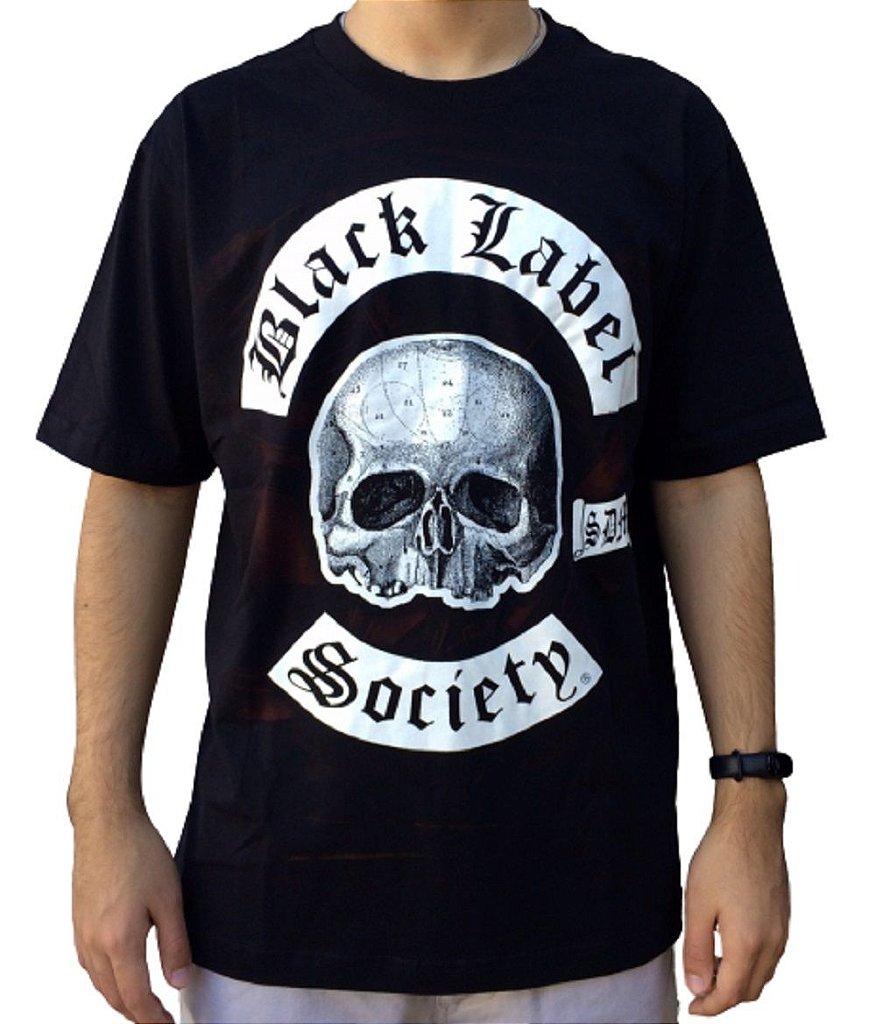 Camiseta Black Label Society - Camiseta de banda - Masculina - 100% algodão