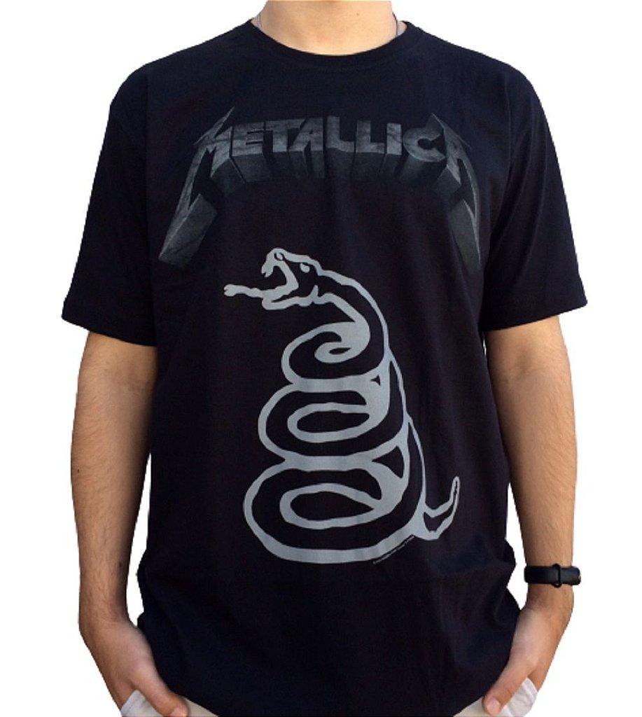 Camiseta Metallica - Black Album