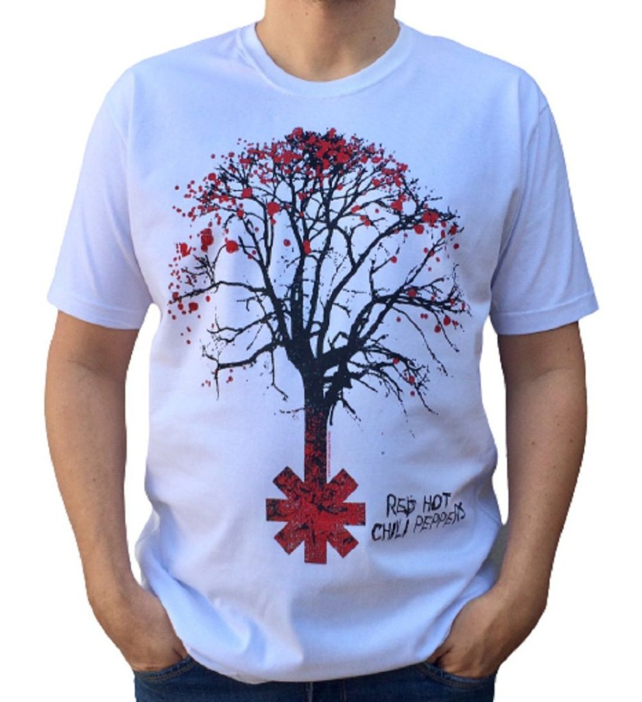 Camiseta Red Hot Chili Peppers - Higher Ground