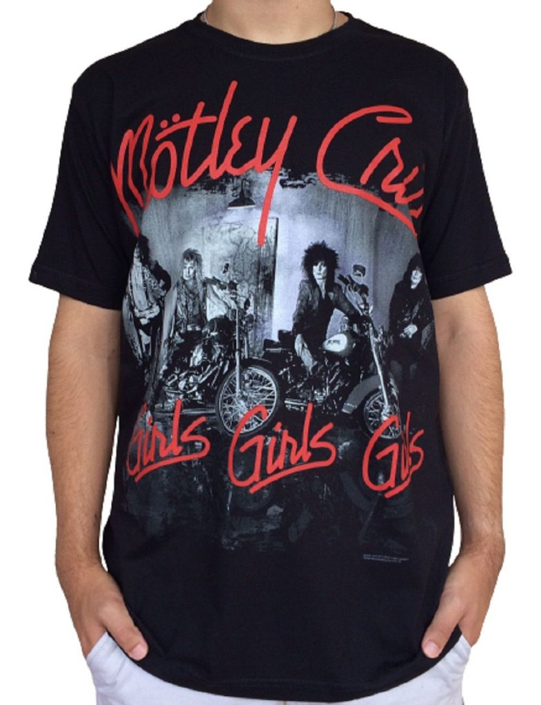 Camiseta Motley Crue