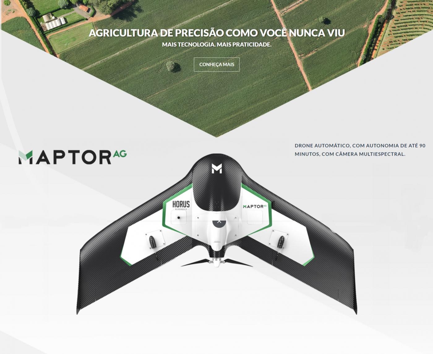 MAPTOR AG, MAPTOR DRONE, DRONE ASA FIXA, ASA FIXA MAPTOR AG,