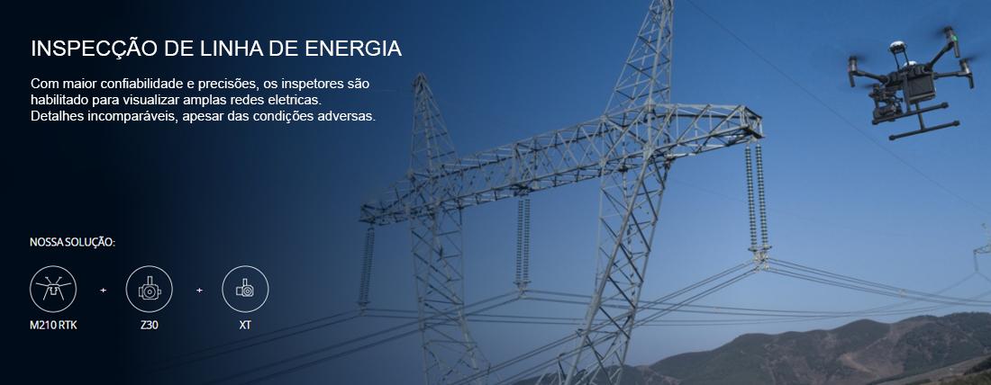 MATRICE 210 V2, MATRICE 210, M210 V2 APLICAÇÕES ENERGIA