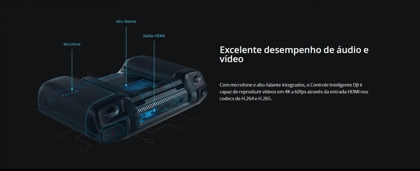 DJI SMART CONTROLLER, AUDIO, VIDEO