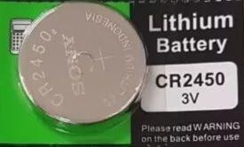 Bateria CR 2450