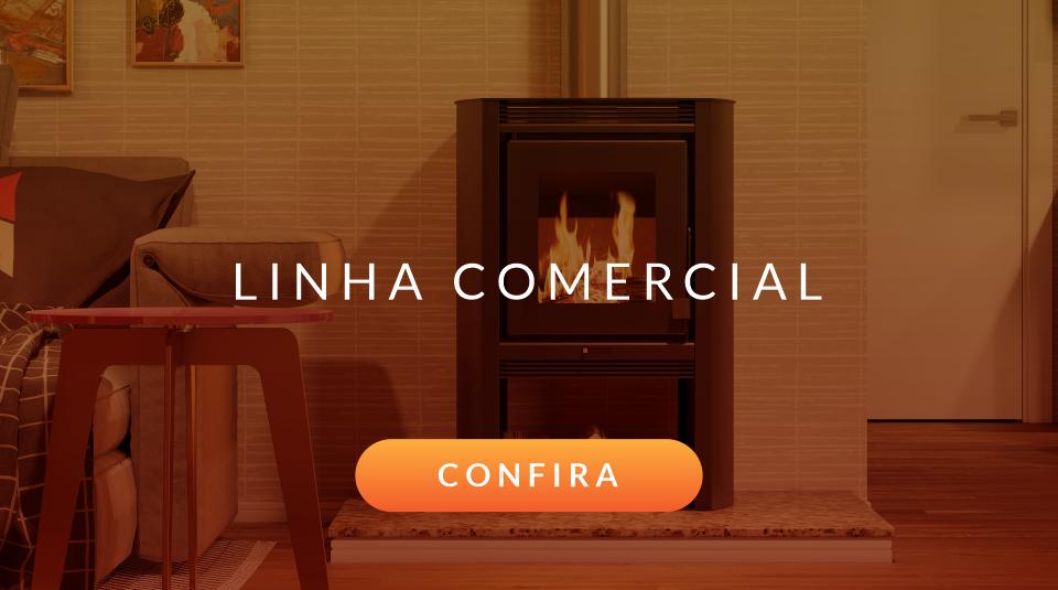 Imagem de um calefator da Linha Comercial de produtos