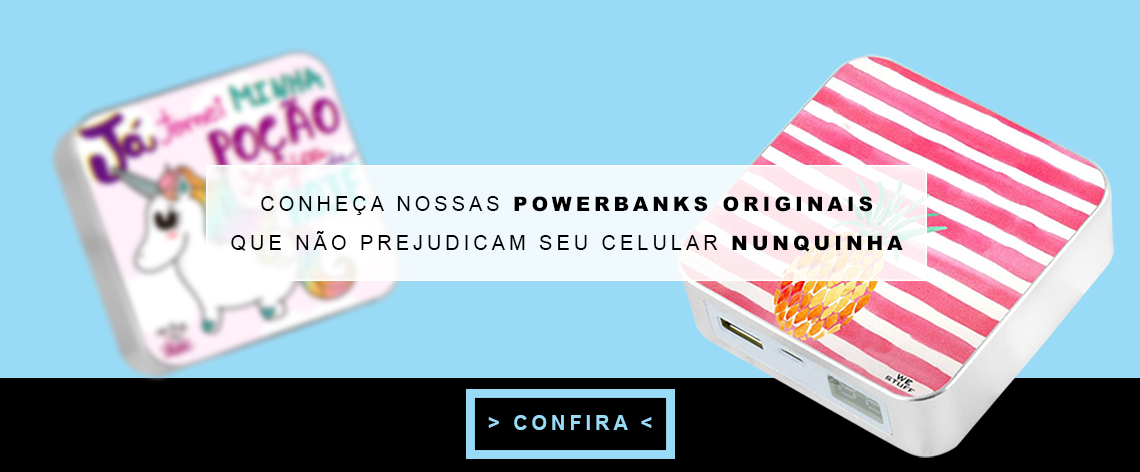 carregador portátil power bank We Stuff