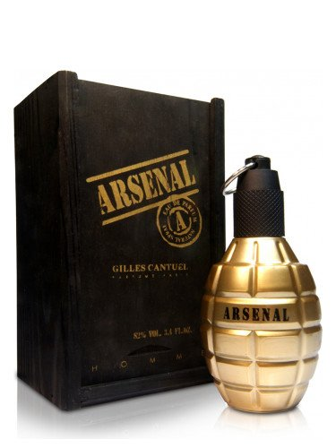 Perfume Arsenal Gold Masculino - EDP - Gilles Canutel - 100ml