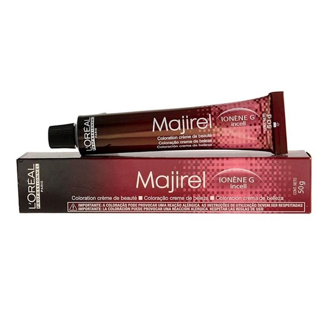 Coloração Majirel 1 (Preto) da L'Oreal 50g Bisnaga