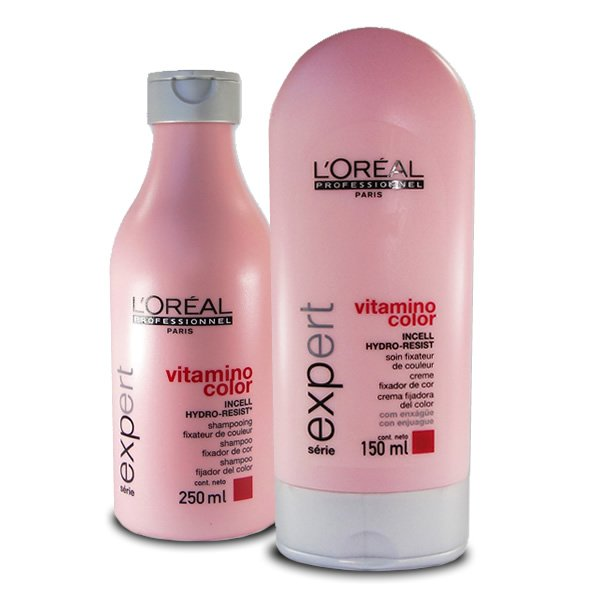 Kit L'Oreal Professionnel Vitamino Color Sh+Cond - 250ml