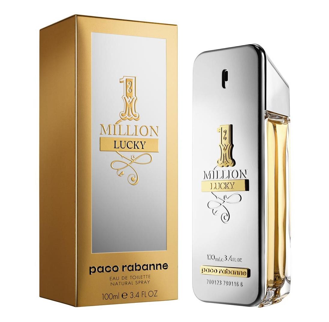 Perfume 1 Million Lucky Masculino - Eau de Toilette - Paco Rabanne