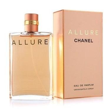 Perfume Allure Feminino Eau de Parfum Chanel embalagem 50ml 100ml