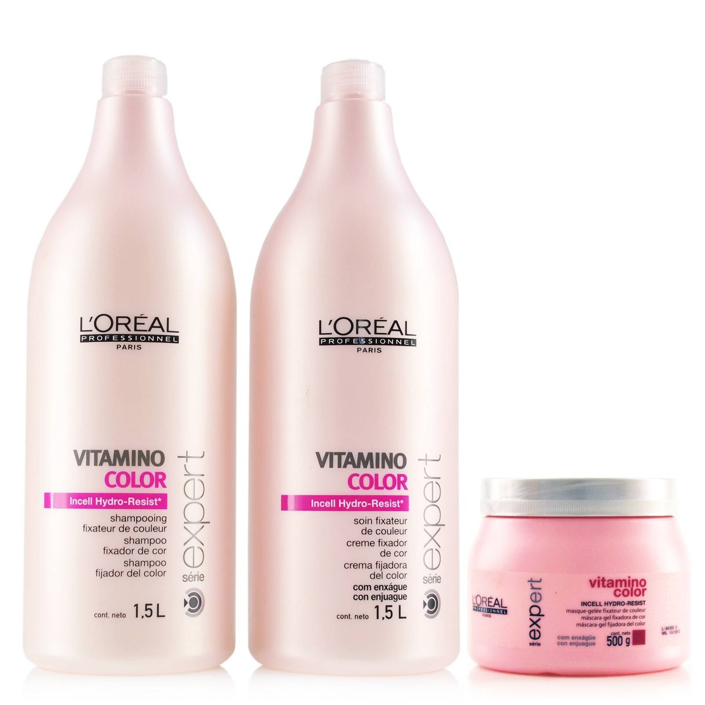 Kit L'Oreal Professionnel Vitamino Color - 1,5L (3 produtos)