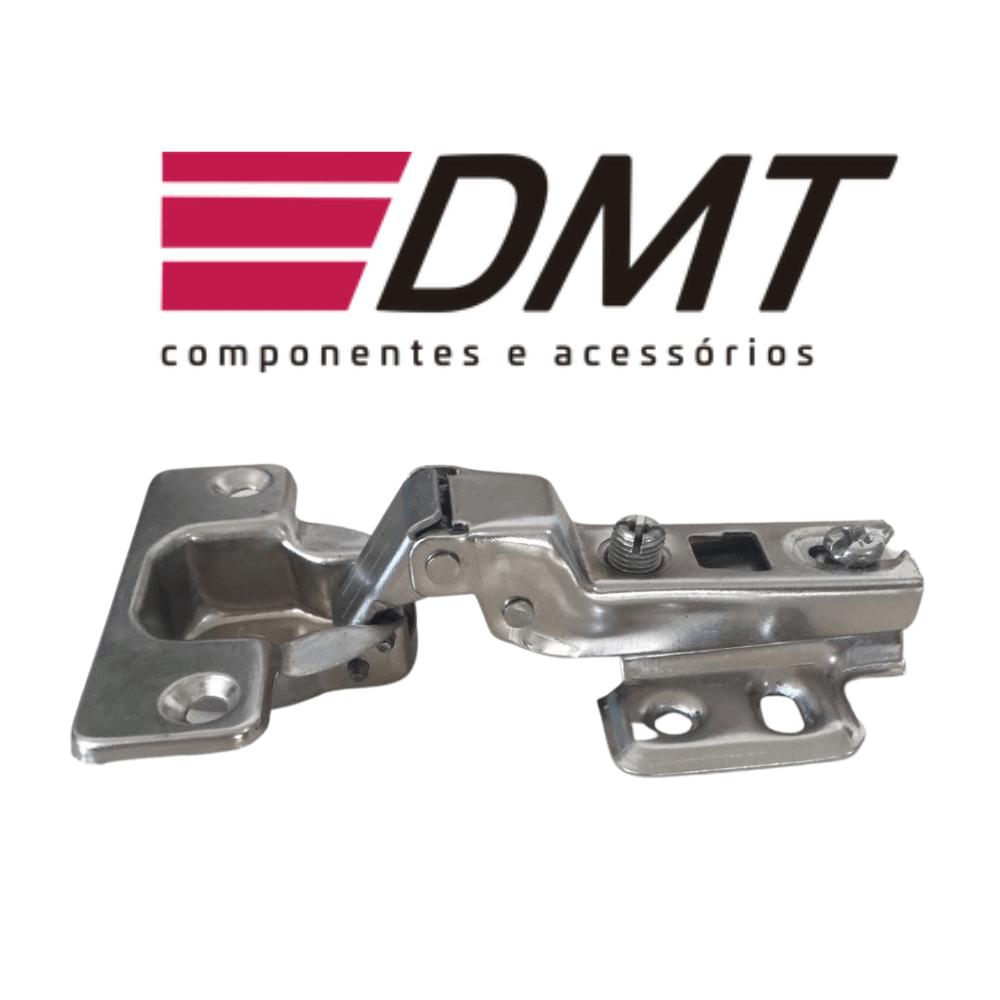 Dobradiça 35mm Slide On 110º curva - DMT