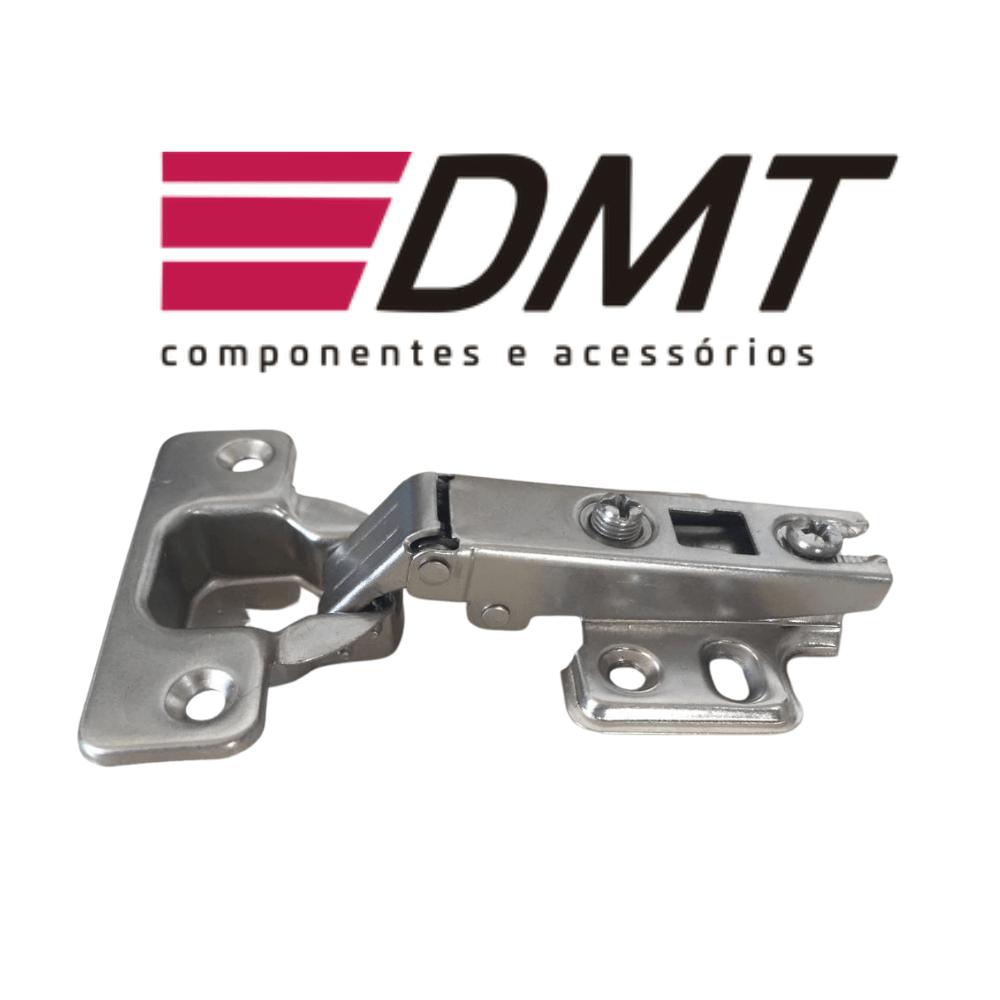 Dobradiça 35mm Slide On 110º Reta - DMT