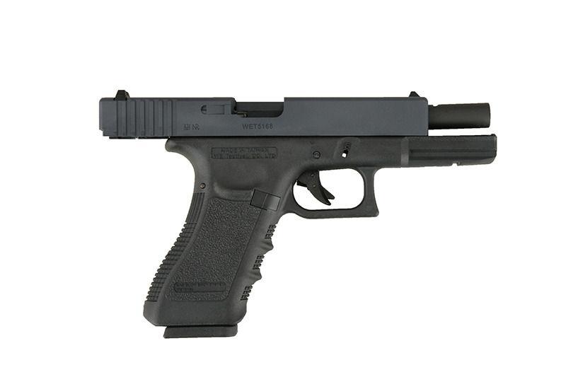 Pistola Airsoft Glock G18c Gen 4 WE GBB 6mm - E&G Comércio - Airsoft