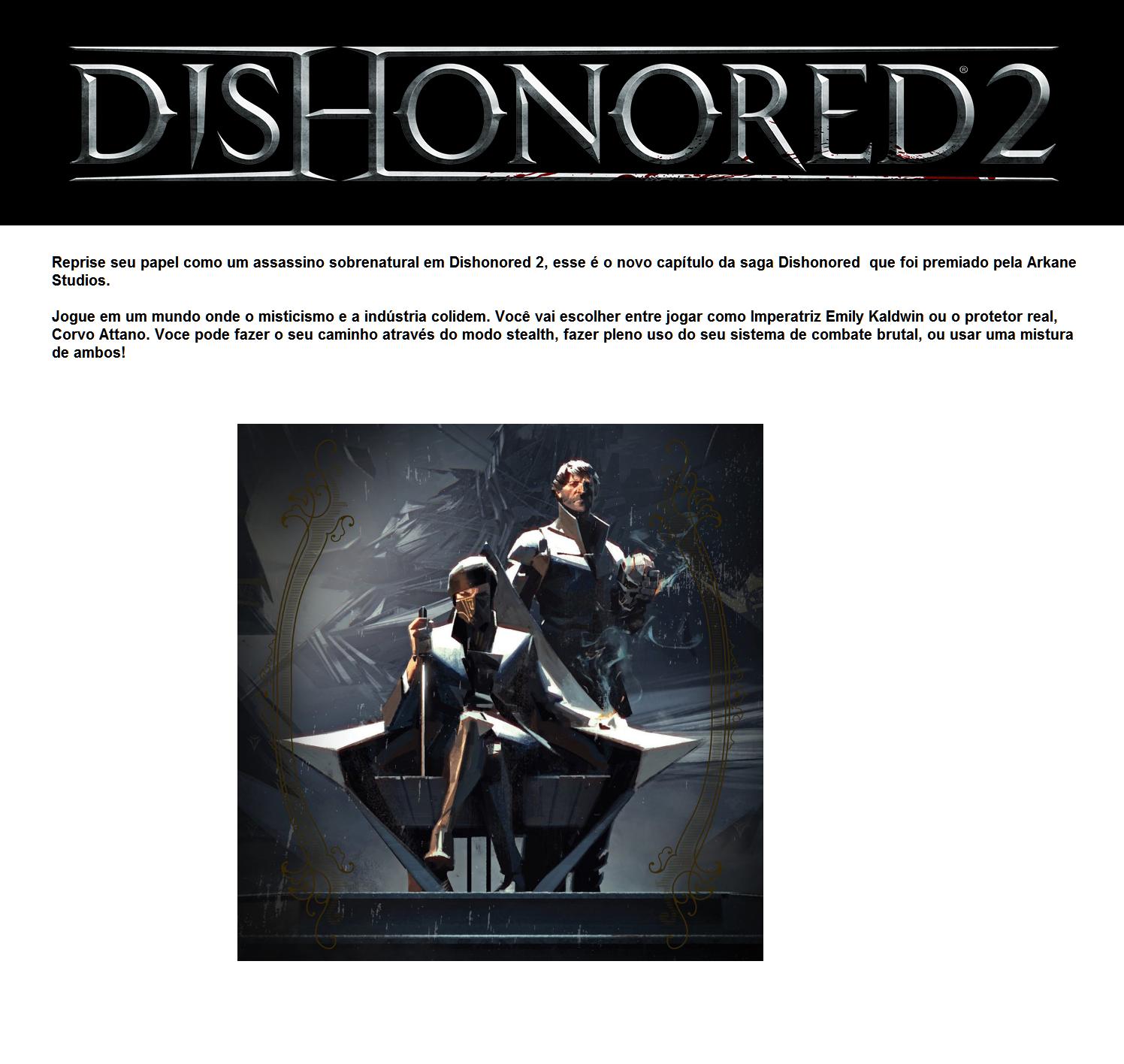 dishonored 2 kika magazine