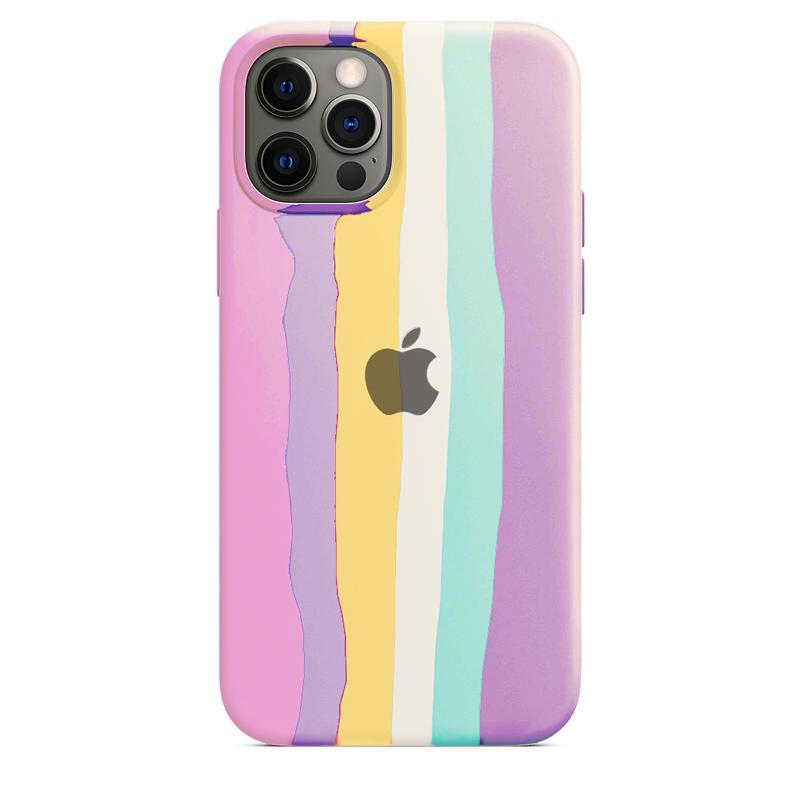 Case Capinha de Silicone Arco-Íris 2 para iPhone 11