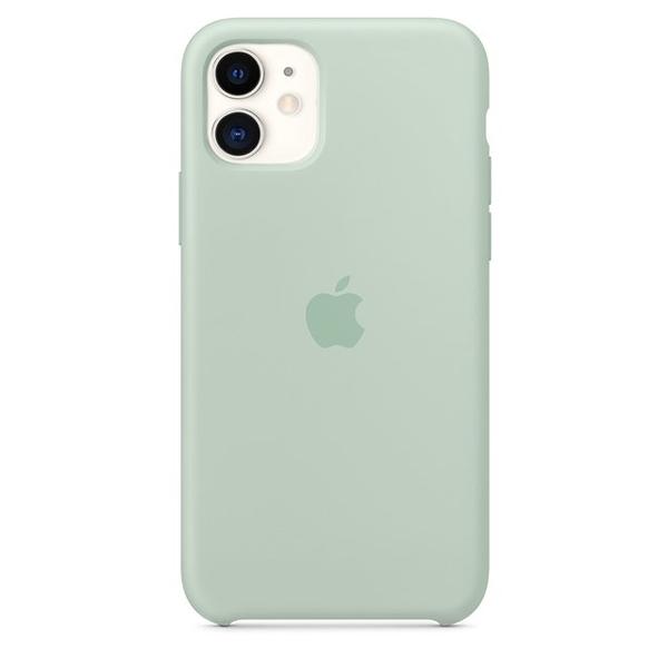Case Capinha de Silicone Azul Berilo para iPhone 11