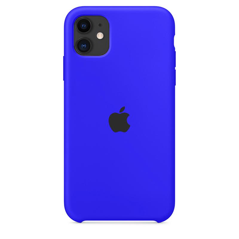 Case Capinha de Silicone Azul Caneta para iPhone 11