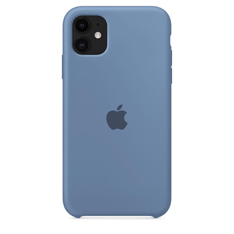 Case Capinha de Silicone Azul Caribe para iPhone 11