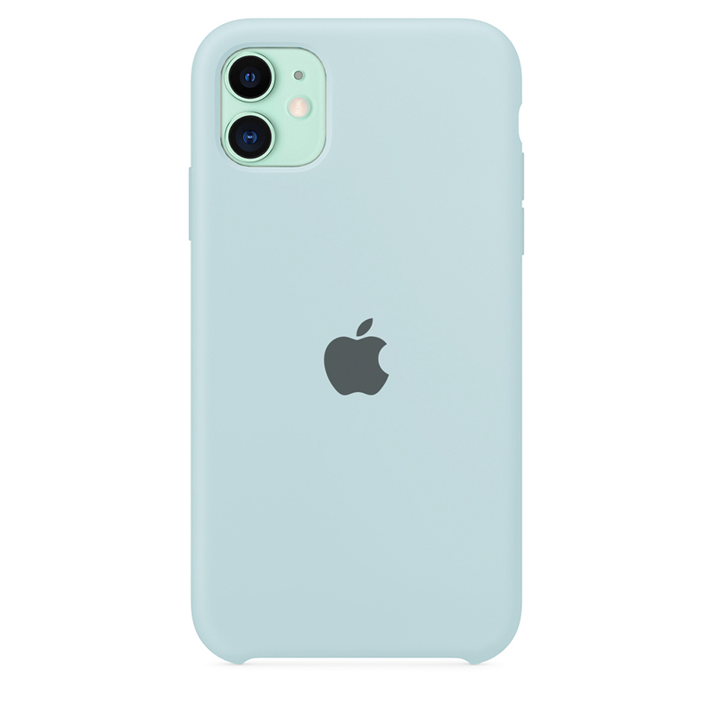 Case Capinha de Silicone Azul Céu para iPhone 11
