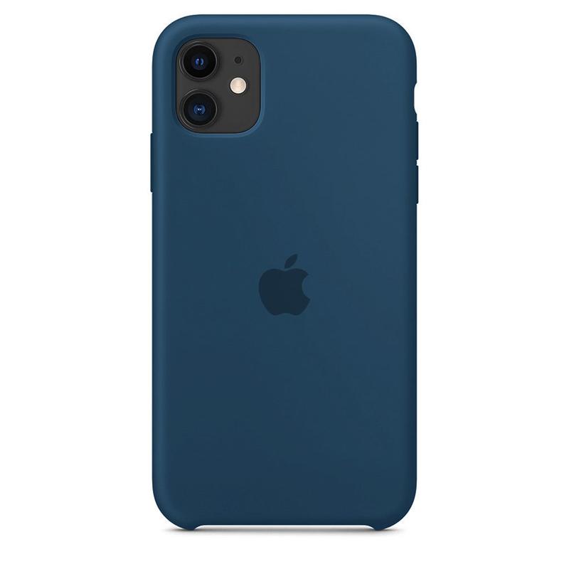 Case Capinha de Silicone Azul Horizonte para iPhone 11