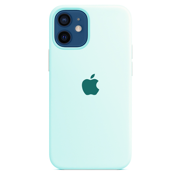 Case Capinha de Silicone Azul Mar para iPhone 11