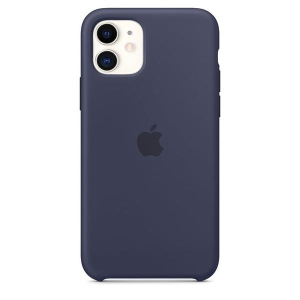 Case Capinha de Silicone Azul Meia Noite para iPhone 11