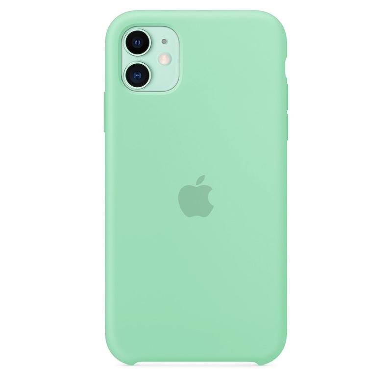 Case Capinha de Silicone Azul Tiffany para iPhone 11