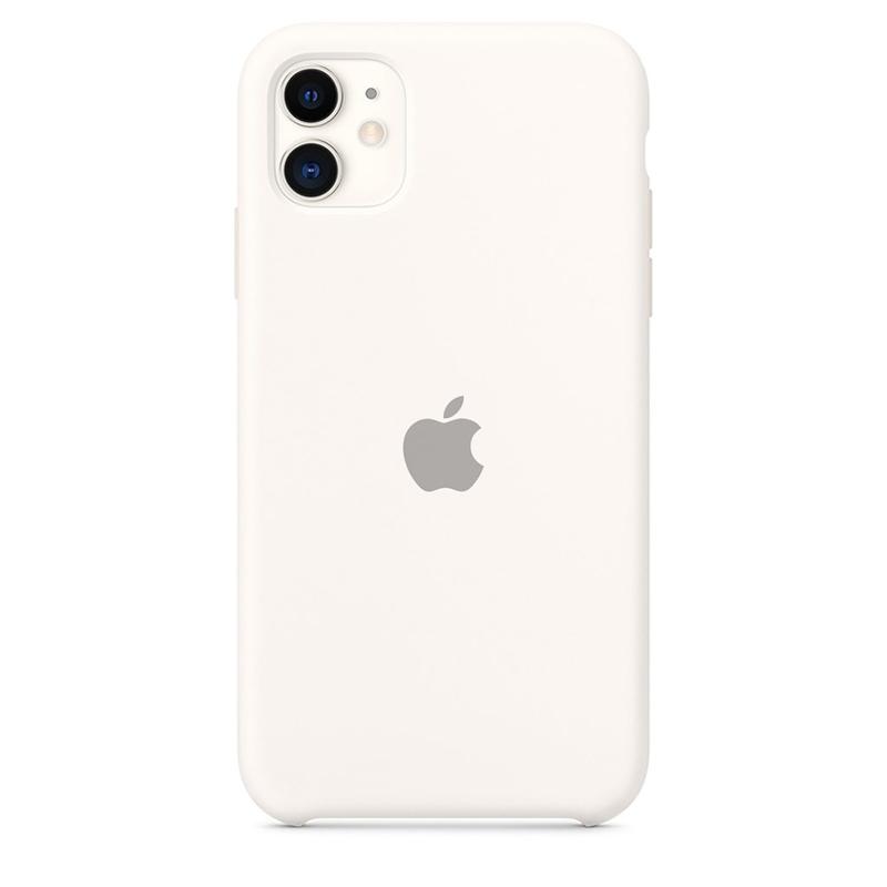 Case Capinha de Silicone Branco para iPhone 11