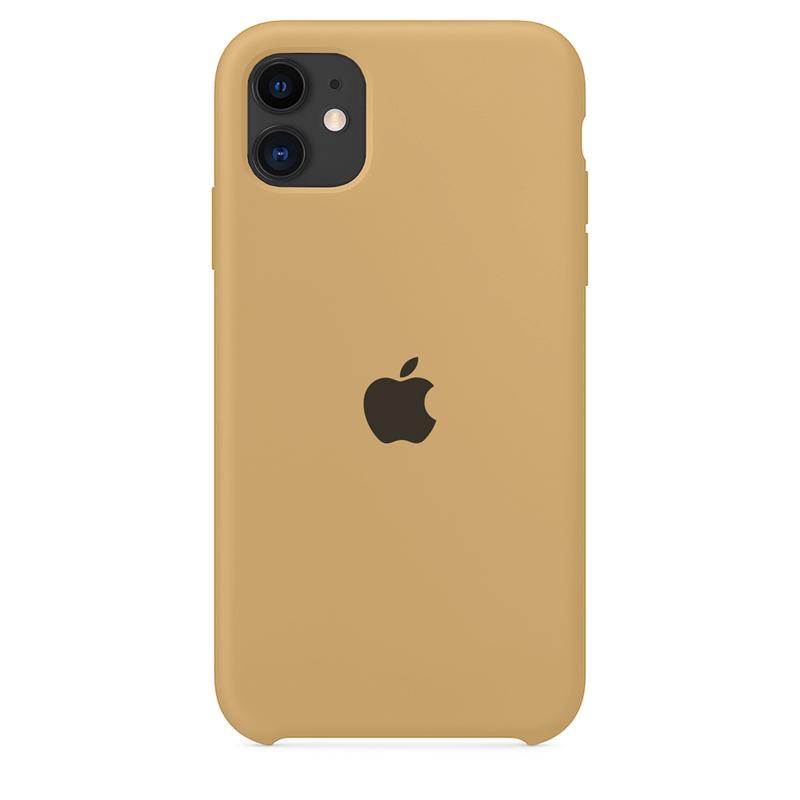 Case Capinha de Silicone Caramelo para iPhone 11