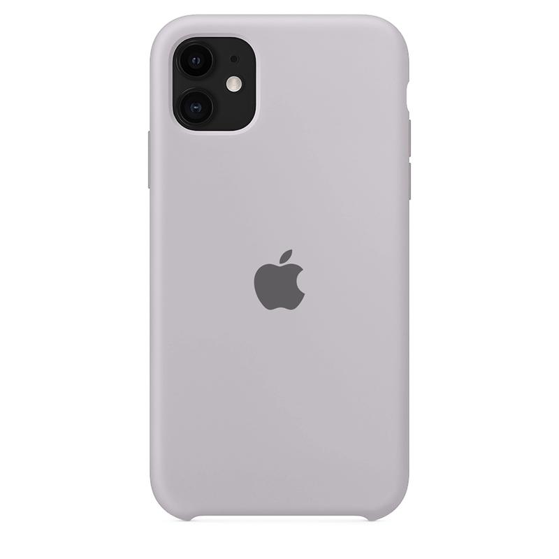 Case Capinha de Silicone Cinza Concreto para iPhone 11