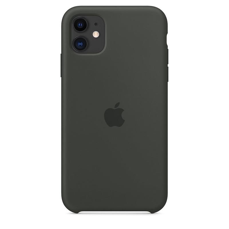 Case Capinha de Silicone Cinza Dark para iPhone 11