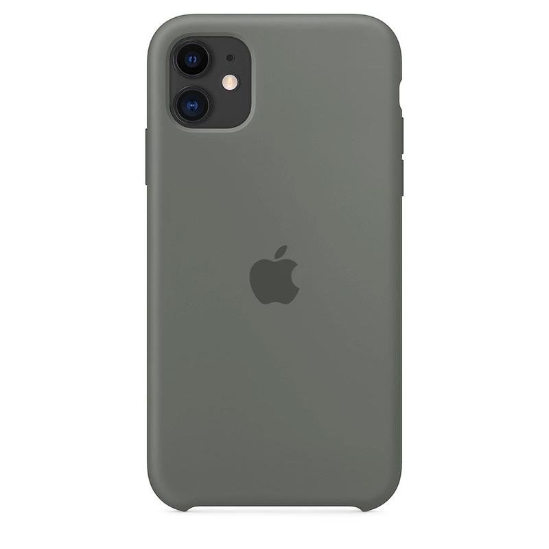 Case Capinha de Silicone Cinza para iPhone 11